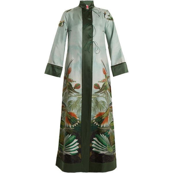 long lace-up dress - Green F.R.S. For Restless Sleepers 3eMvXIsf