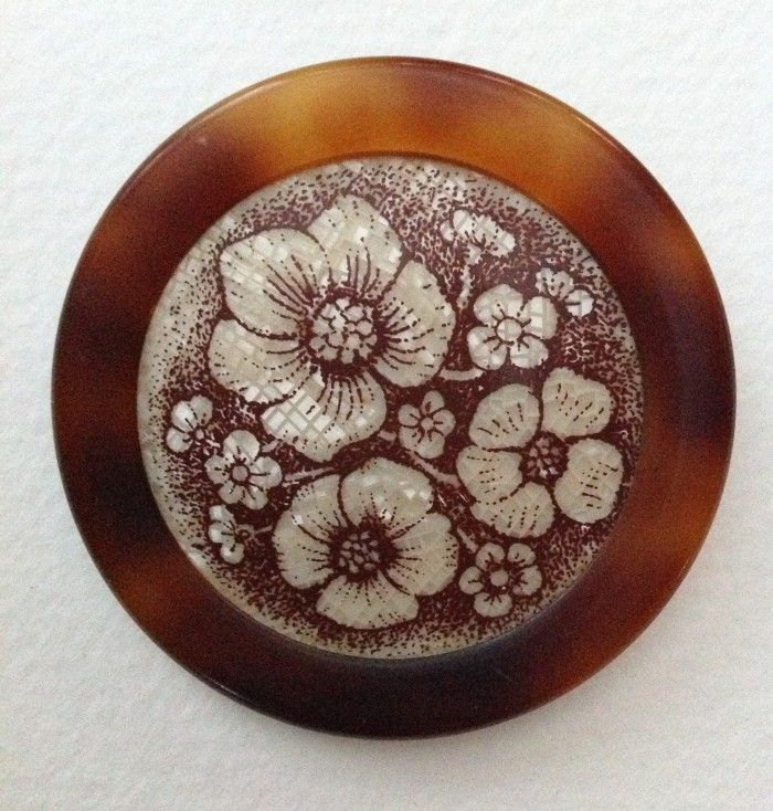 Serigraphy Brooch By Lea Stein Paris