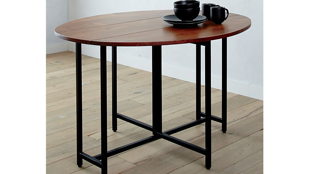Origami Drop Leaf Oval Dining Table Oval Kitchen Table Table