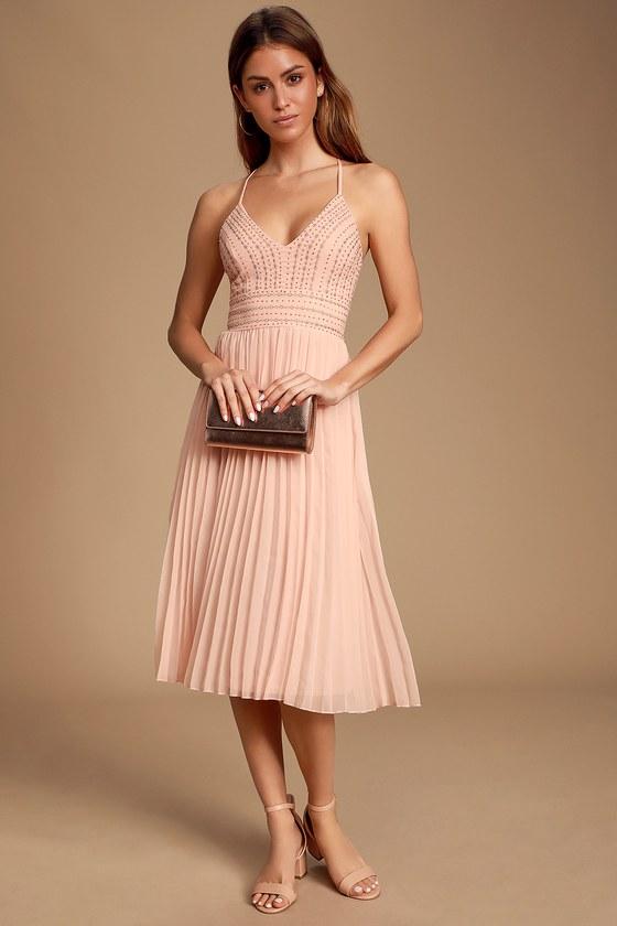 16+ Blush midi dress ideas in 2021