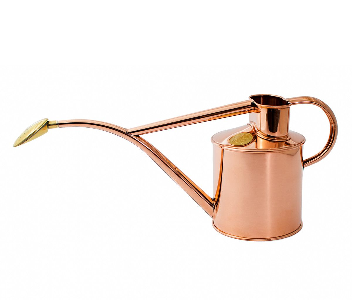 haws copper indoor and seedling watering can urban patio