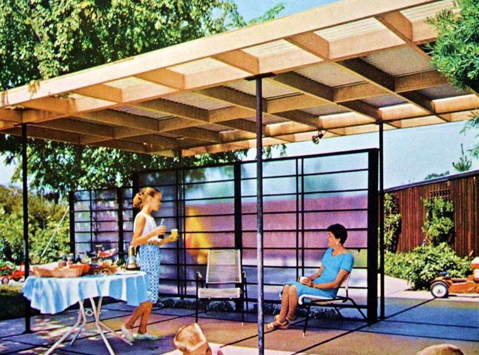 Ooooh La La A Transparent Screen Hmmmm Modern Landscaping Modern Backyard Design Modern Backyard