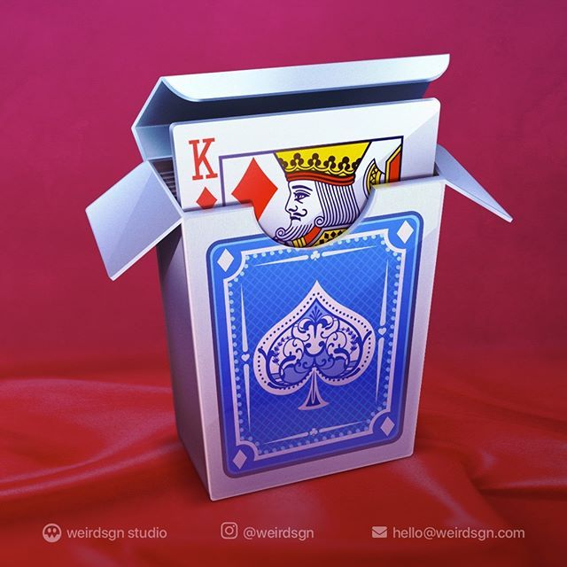 Real Solitaire Mac Game Icon. weirdsgn gamedsgn