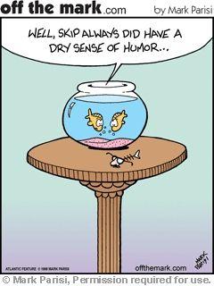 Define a dry sense of humor