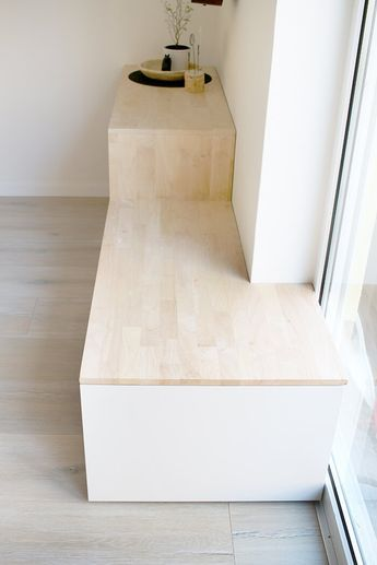 Do it yourself: Aus Besta und Holz wird ein Sideboard mit Sitzbank #zuhausediy