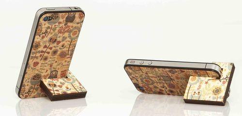 Reggi iPhone 4-4s in legno