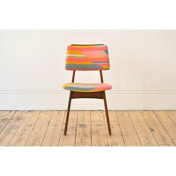 __Occasional chairs recovered in exclusive print designed by Tamasyn Gambell__ - Forest London