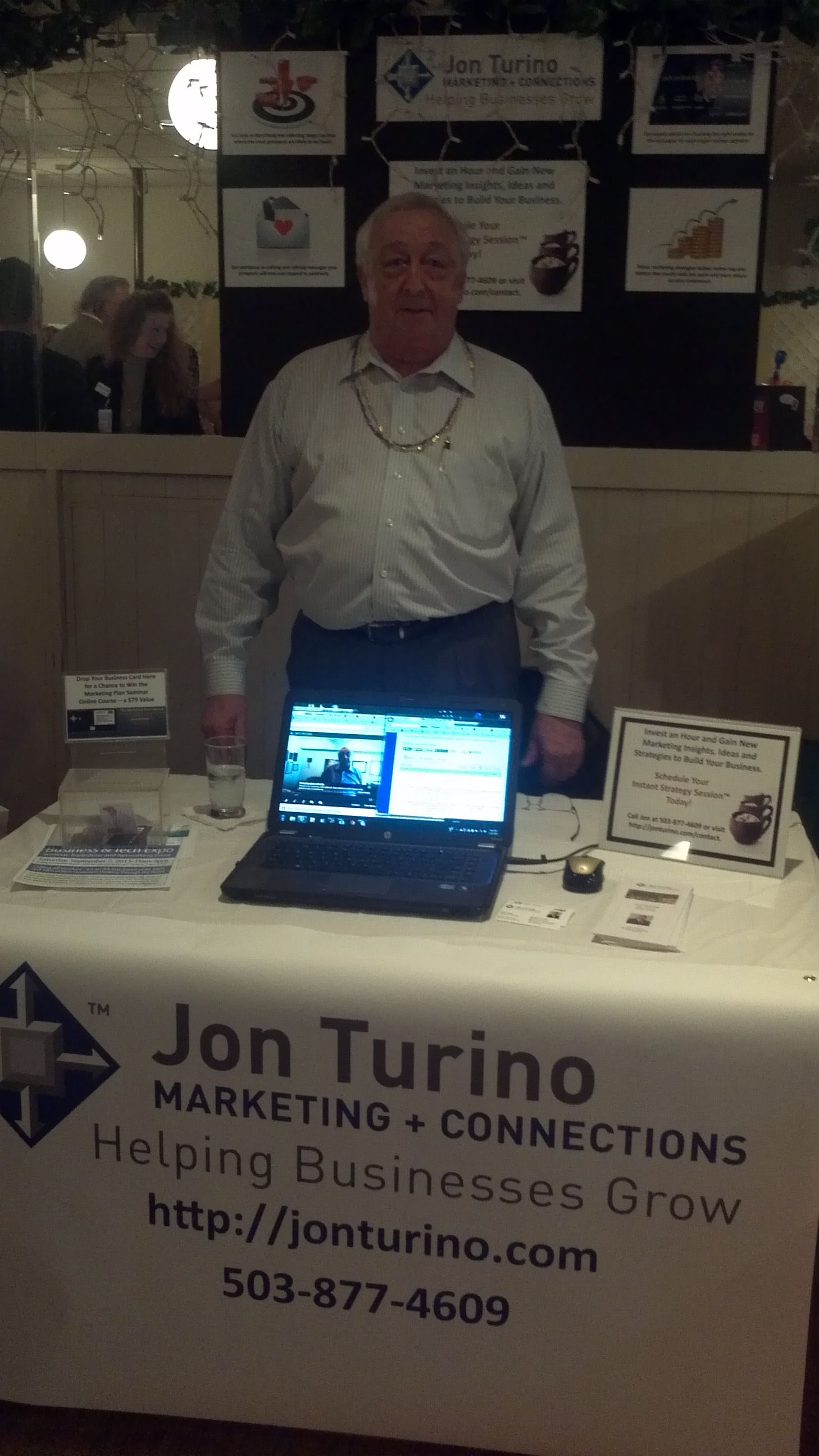 My space at the great Reciproty Networking With Results event tonight. Lots of vendors, lots of visitors, lots of leads and lots of fun. If you don't know ReciProty yet you need to do that.