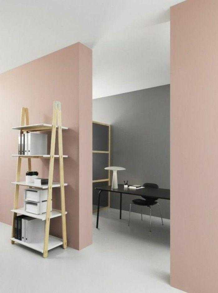 Avec quelle couleur associer le gris plus de 40 exemples - Quel mur peindre dans une chambre ...
