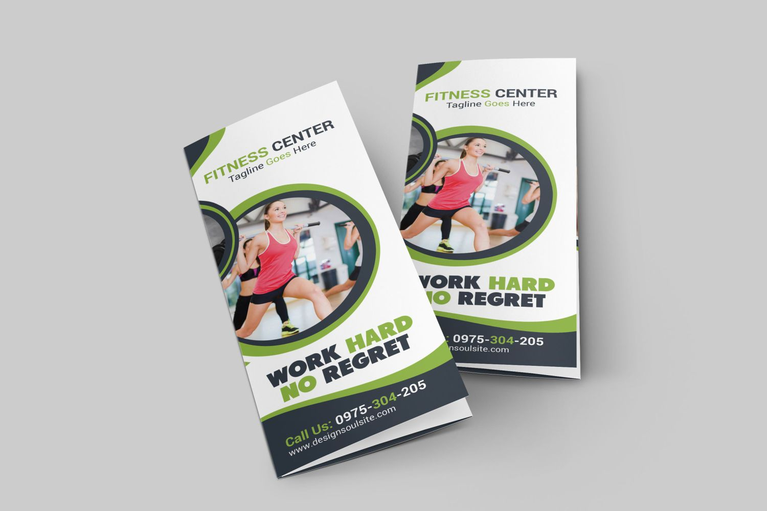 Fitness TriFold Brochure By Designsoul On Envato Elements