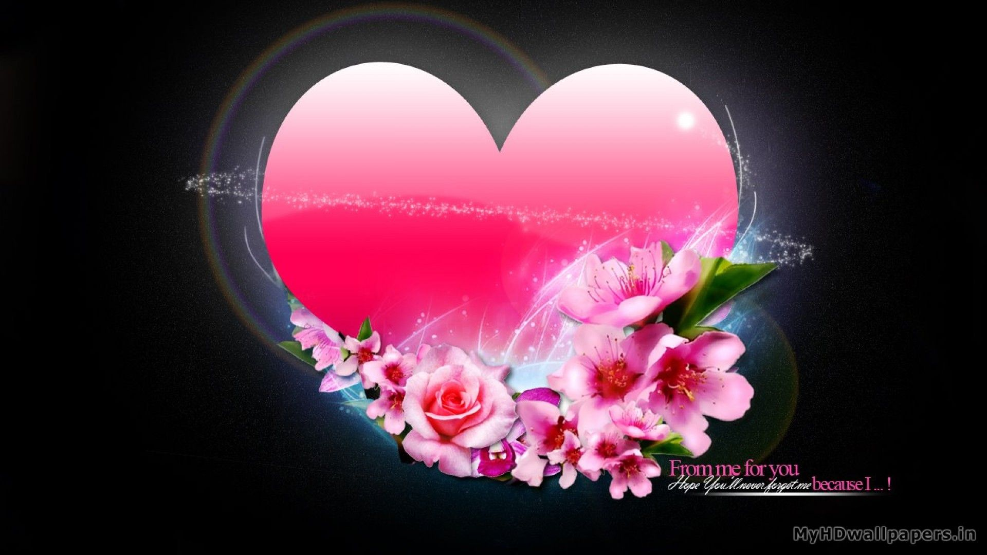 Heart Flowers Httpsuperwallpaperswallpaperheart Flowers