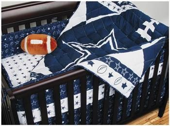 High Quality Dallas Cowboys Baby Crib Bedding Set... Wonder If Baby Kittley Needs This? Amazing Pictures