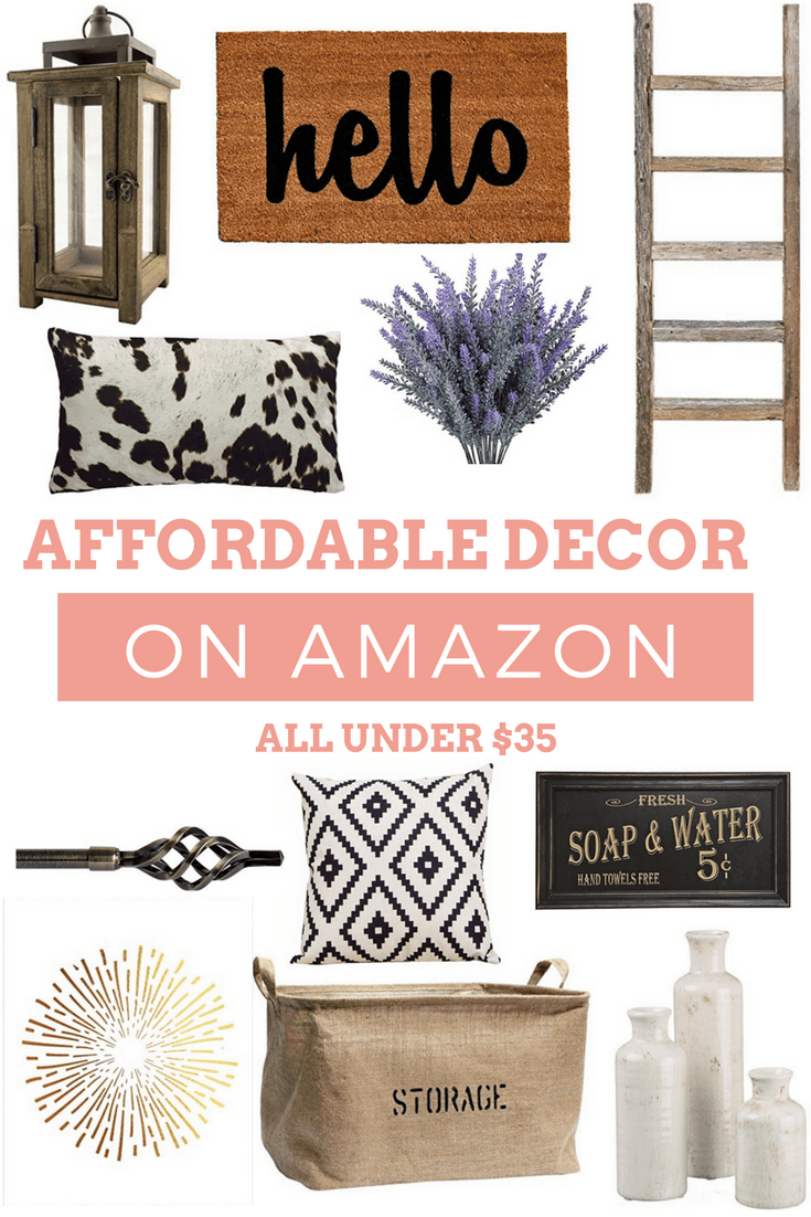 11 Affordable Decor Finds on Amazon That'll Look Good with Any Style #amazonhomedecor