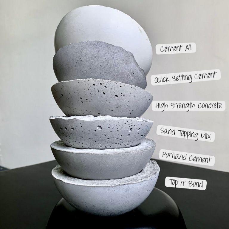 Making Cement & Concrete Crafts | Cement crafts, Concrete ...