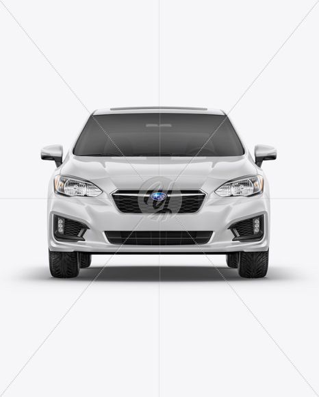 Subaru Impreza 2017 Mockup - Front view #allwheeldrive #auto #car #Compactcar #fivedoor #frontview #hatchback #mockup #polystyrene #smallfamilycar #SubaruImpreza #vehicle