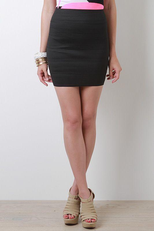 Midnight Party Skirt
