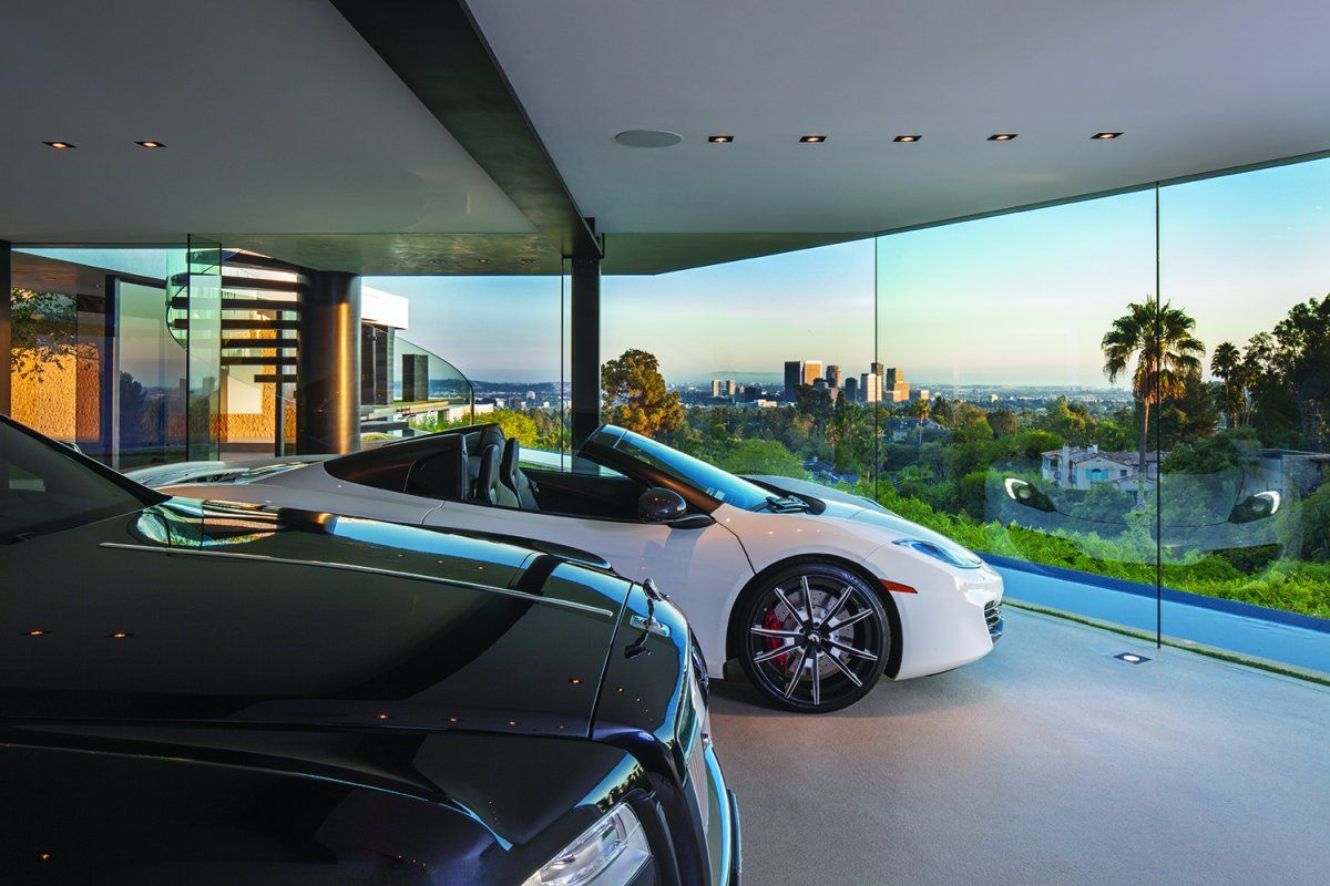 World S Most Beautiful Garages Exotics Insane Garage Picture Thread 50 Pics Page 336 Beverly Hills Houses Modern Mansion Beverly Hills Mansion