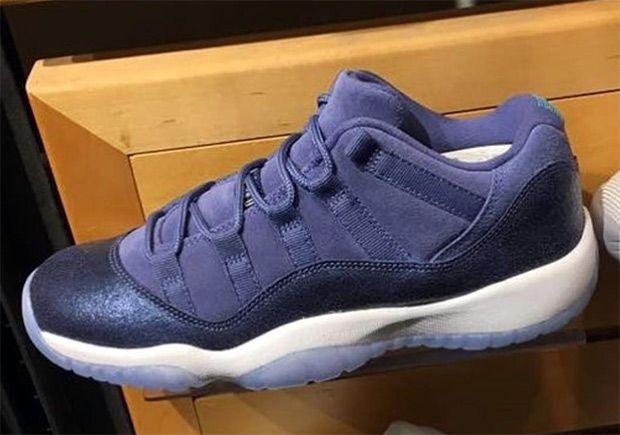 "#sneakers #news Air Jordan 11 Low GS ""Blue Moon"""