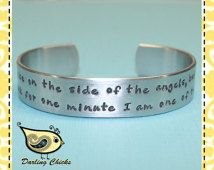I May Be On the Side of the Angels.. Bracelet