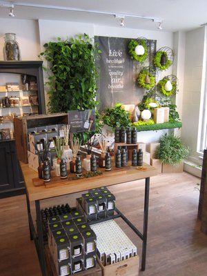 Magasin Bio Canada Lilo Decoration Salon Plantes Decoration Salon De Beaute Salon Esthetique