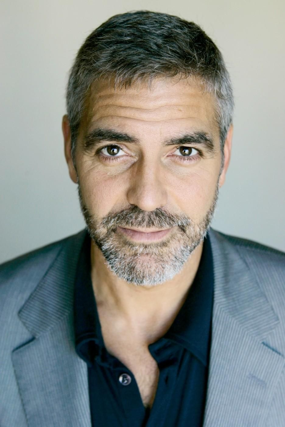 George Clooney Beards Are Epic Pinterest Hair Hair Styles And