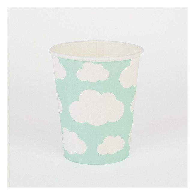 Clouds Party Cups 8 Pack 1st Birthday Party Supplies Cloud Party Party Supplies