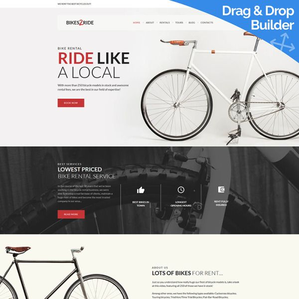Bikes2ride Cycling Moto Cms 3 Template 77536 With Images Wordpress Theme Wordpress Template Templates