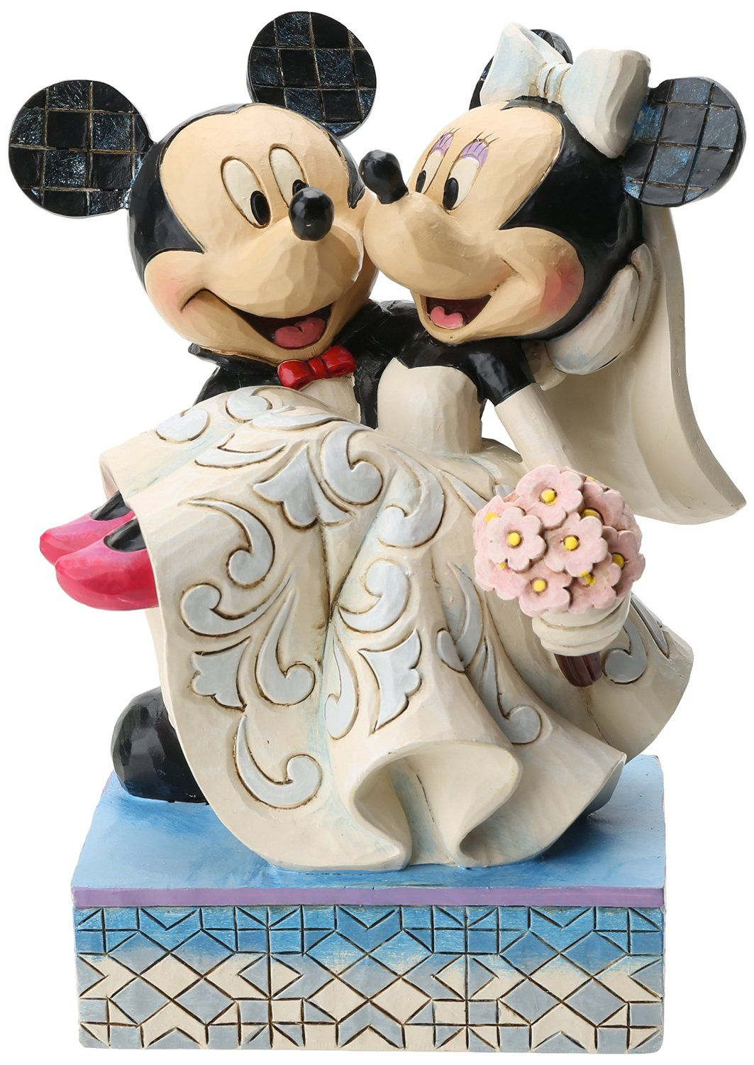 Disney traditions by jim shore mickey and minnie wedding