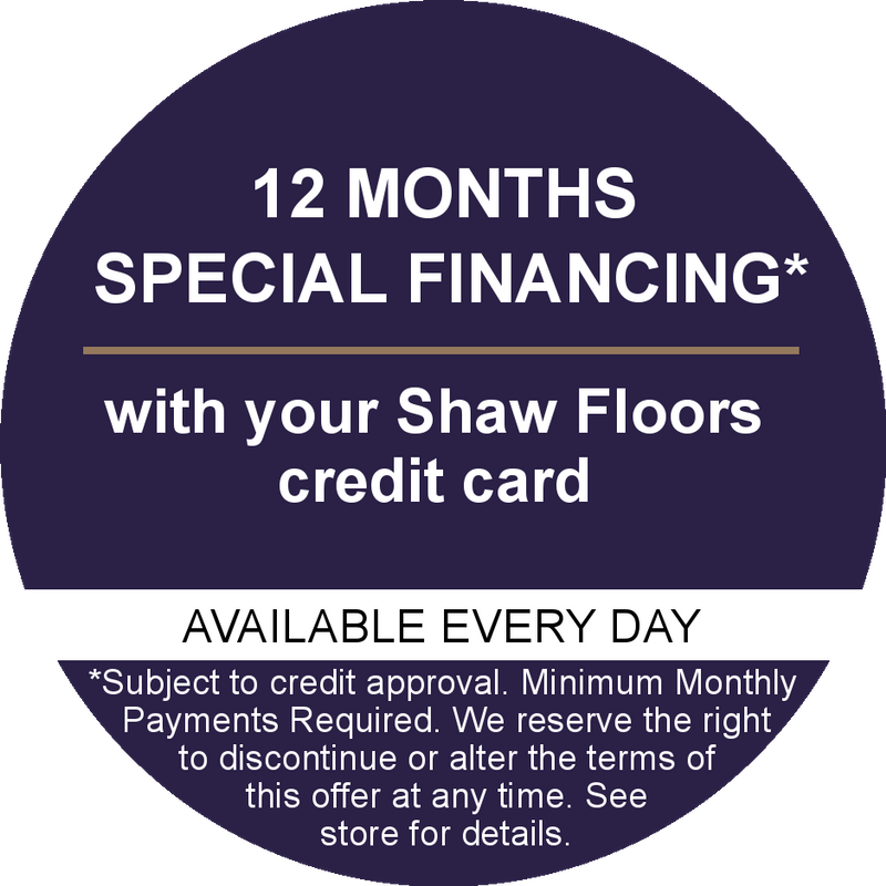 Ask About Financing To Fit Your Budget Shaw Hard Surface Flooring - Shaw flooring financing