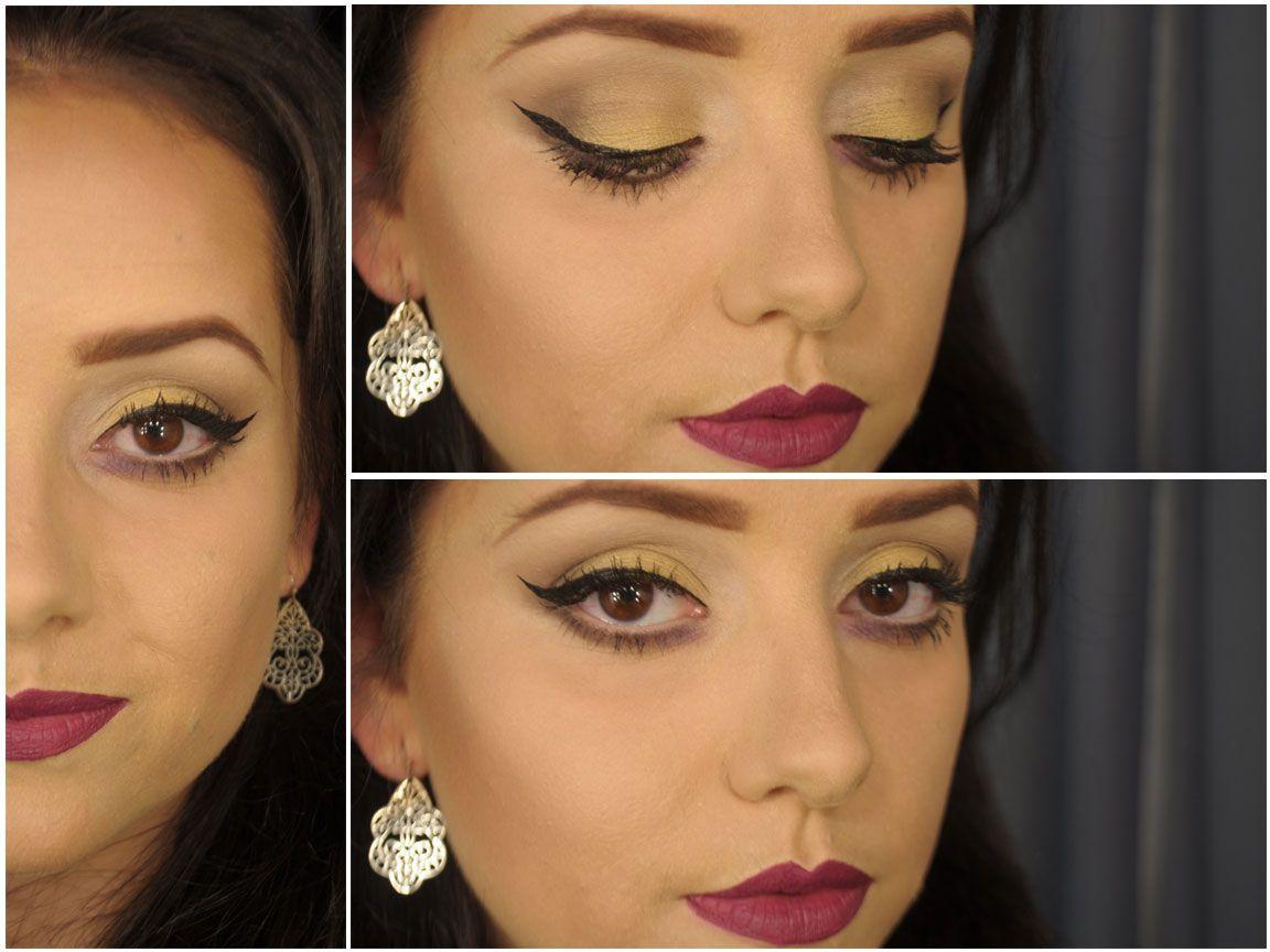 Maquiagem de Sexta – Olhos quase normais, mas boca é roxa!