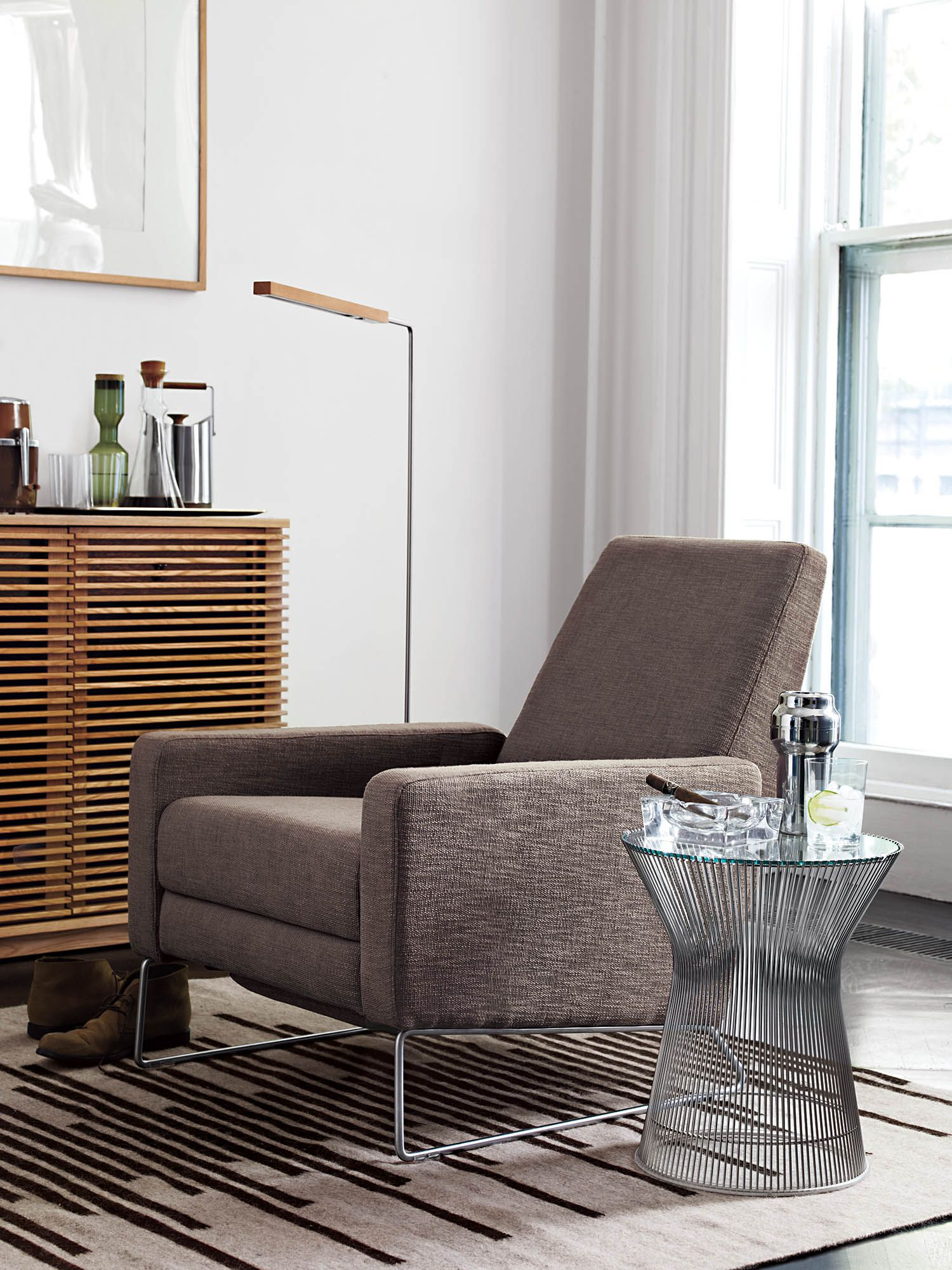 Beau Flight Recliner, Designed By Jeffrey Bernett And Nicholas Dodziuk. DWR,  Styled By Studio