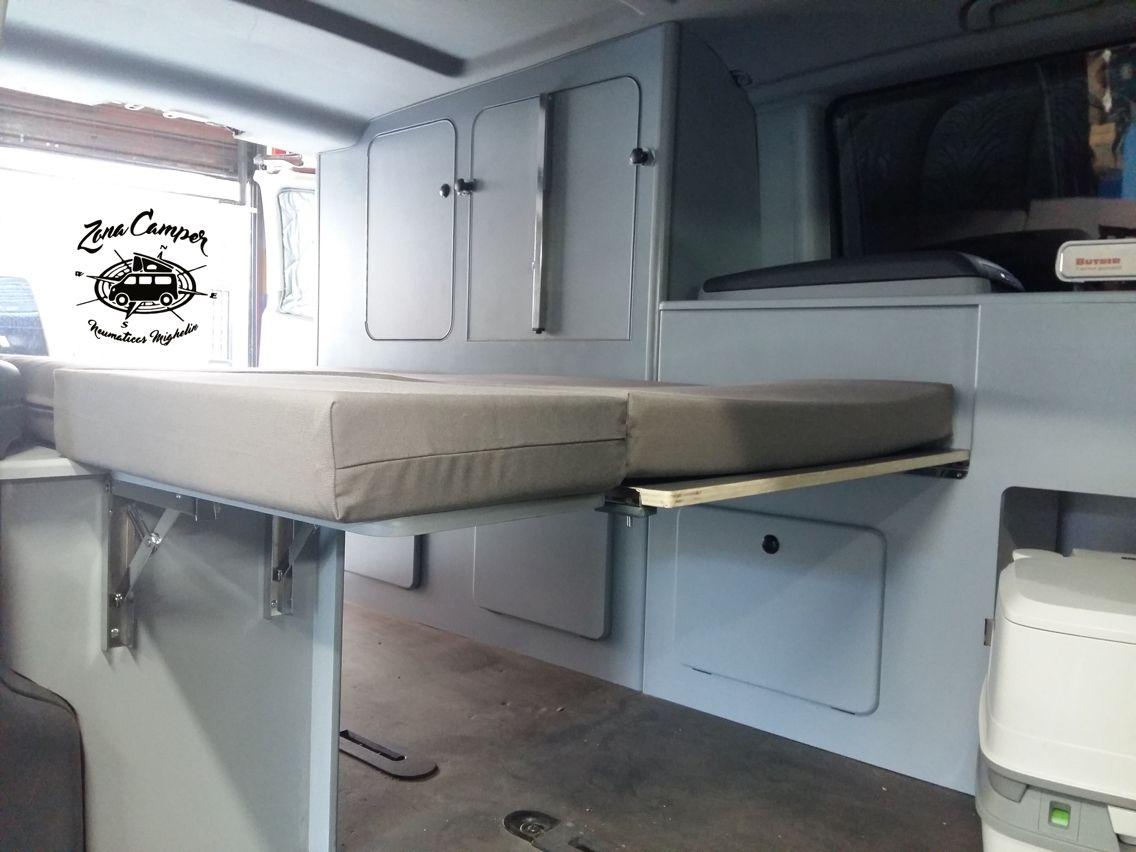 Mueble Cama Para Mercedes Vito Zonacamper By Neumaticosmighelin  # Muebles Westfalia
