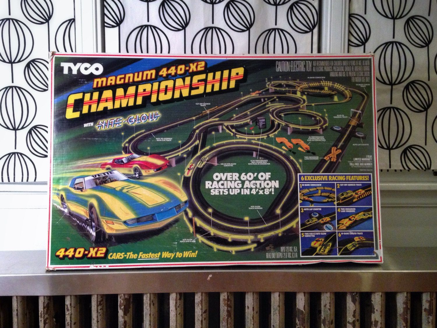 Vintage Slot Car Track By Tyco Magnum 440 X2 By Williamchas Slot