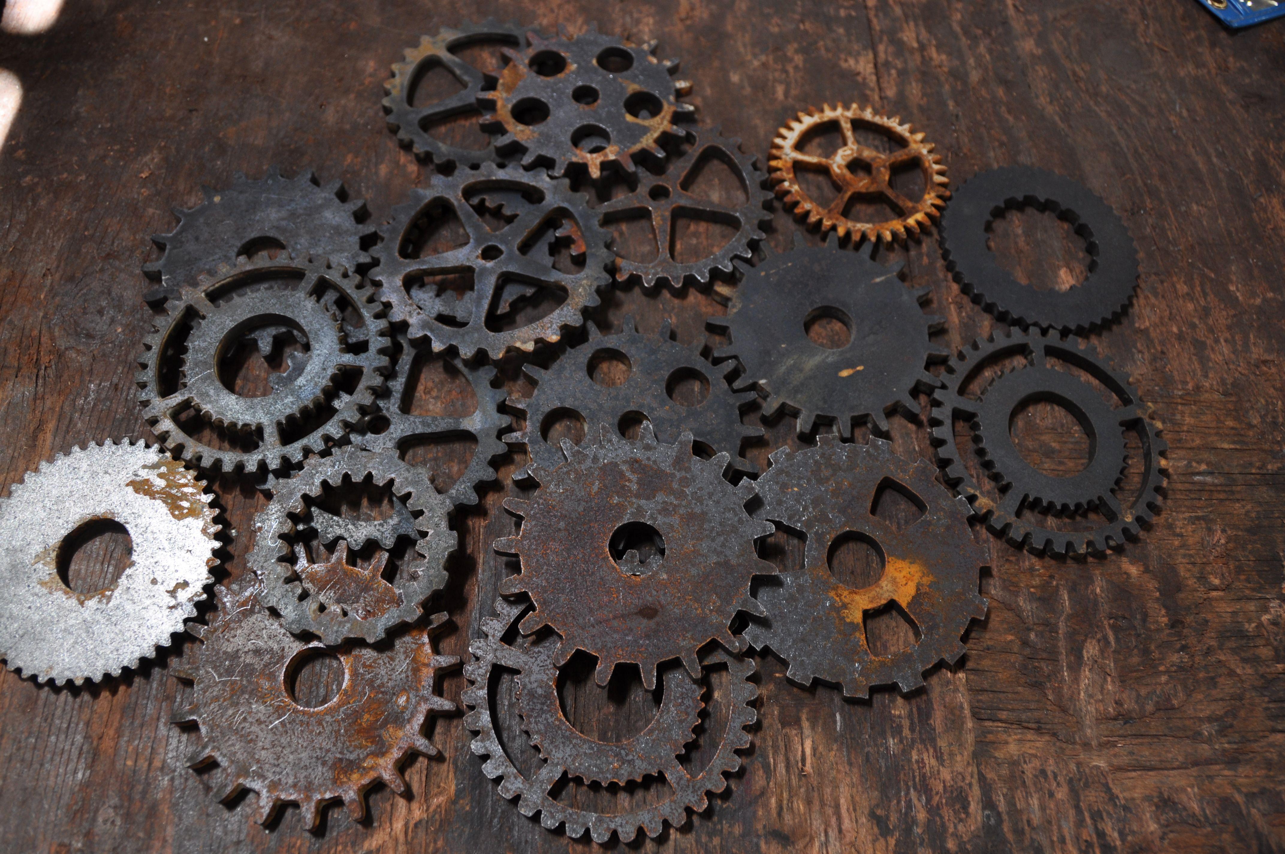 Vintage Industrial Gears