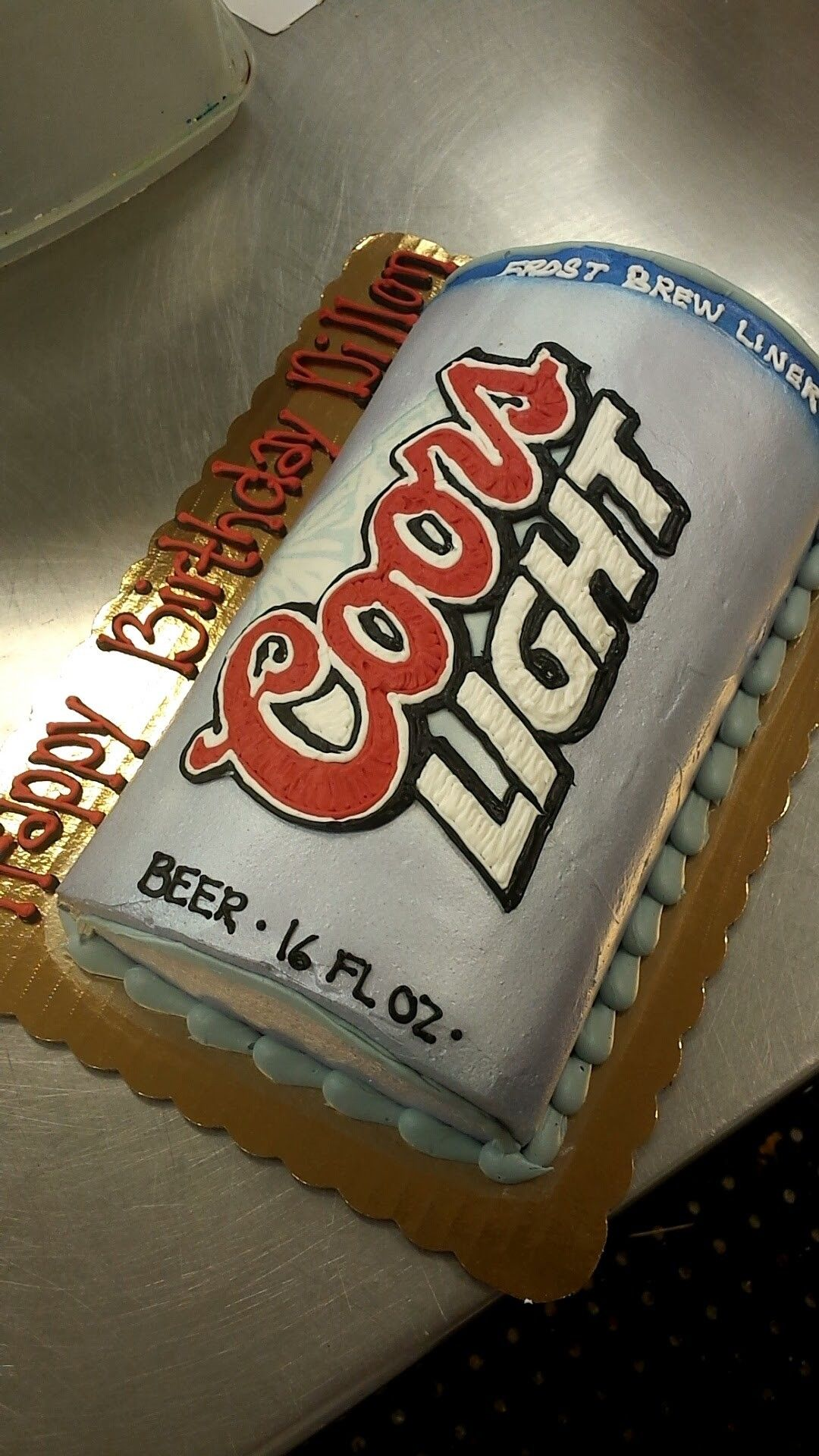Coors Light Can Cake Liv A Little Cakes By Olivia Pinterest