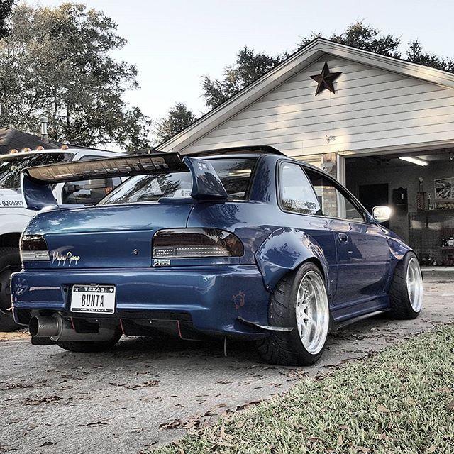 """The Subaru Impreza """"Block BUSTER."""""""