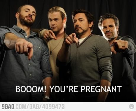 my ovaries just exploded #avengers