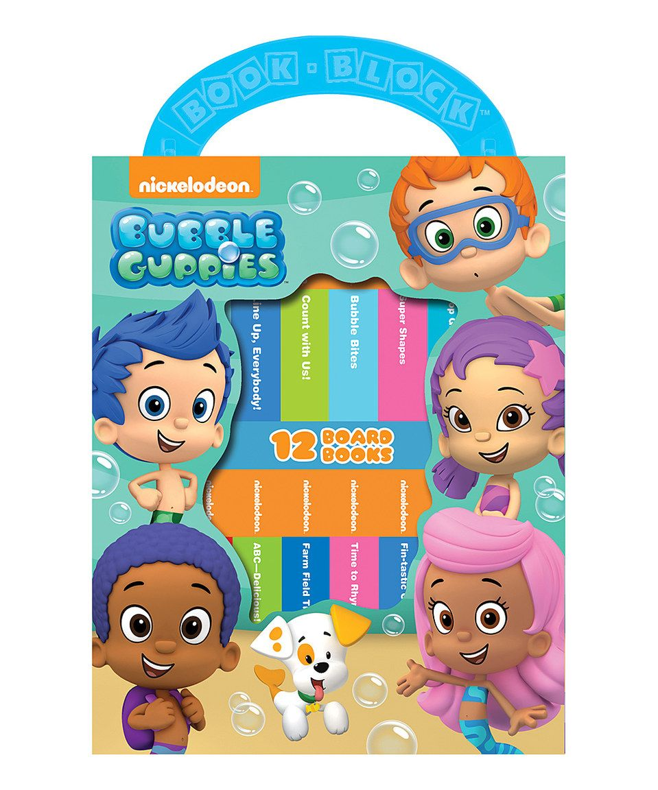 Take A Look At This Bubble Guppies Board Book Set Today!