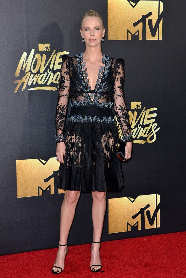 Charlize TheronCharlize Theron attends the 2016 MTV Movie Awards at Warner Bros. Studios on April 9, 2016 in Burbank, California. Photo by Lionel Hahn/ABACAPRESS.COM | 542320_068 Burbank