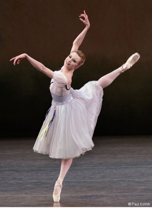 Sara Mearns in August Bournonville, Stanley Williams, and Nilas - dance resumeresume prime