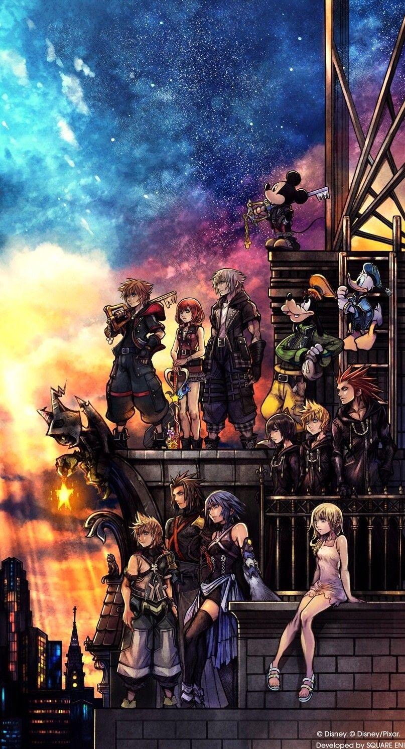 Wallpaper 4k Kingdom Hearts Gallery