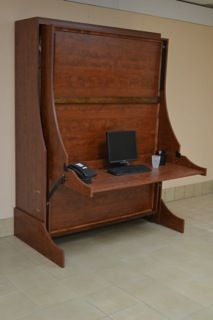 Desk wall bed like  murphy but better can leave items on also best beds images pinterest in fold up