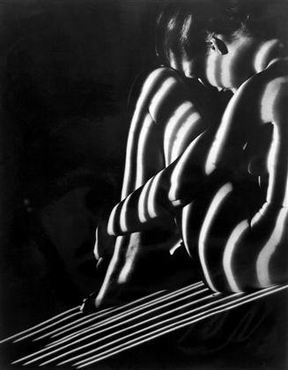 Beautiful shadows  by Erwin Blumenfeld