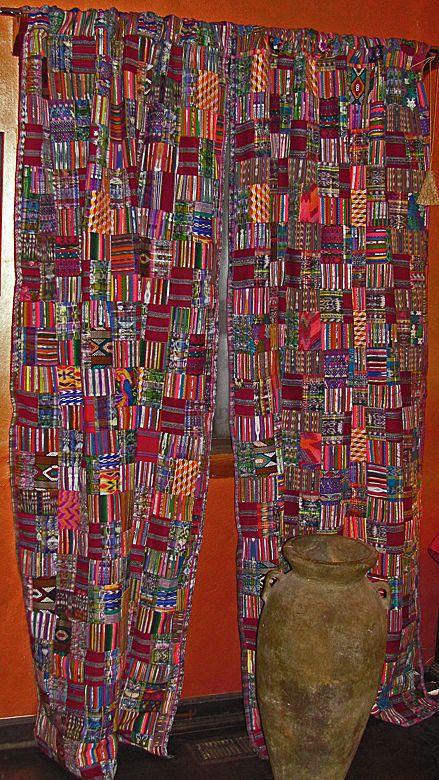 Handmade Fair Trade Rose/Mixed Pastel Guatemalan Drapes ...