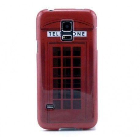 Coque cabine téléphonique rouge Galaxy s5 mini | Samsung galaxy s5 ...