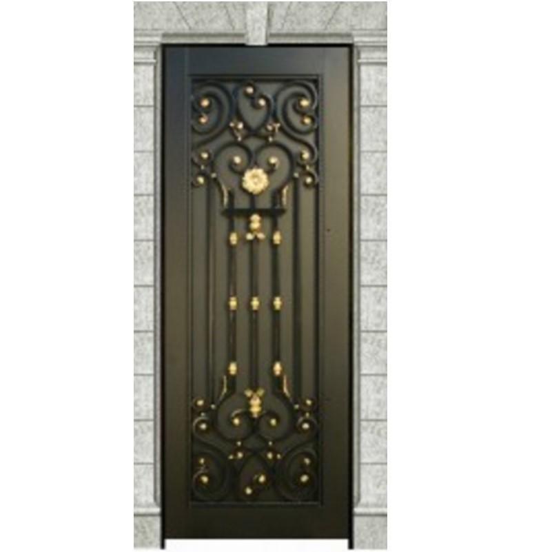 Exterior black metal french doors metal front doors - Black metal french doors exterior ...