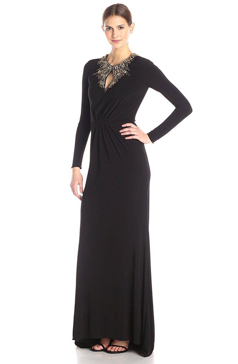 0a8f12370e6 Long Sleeve Black Maxi Dress Amazon - Gomes Weine AG