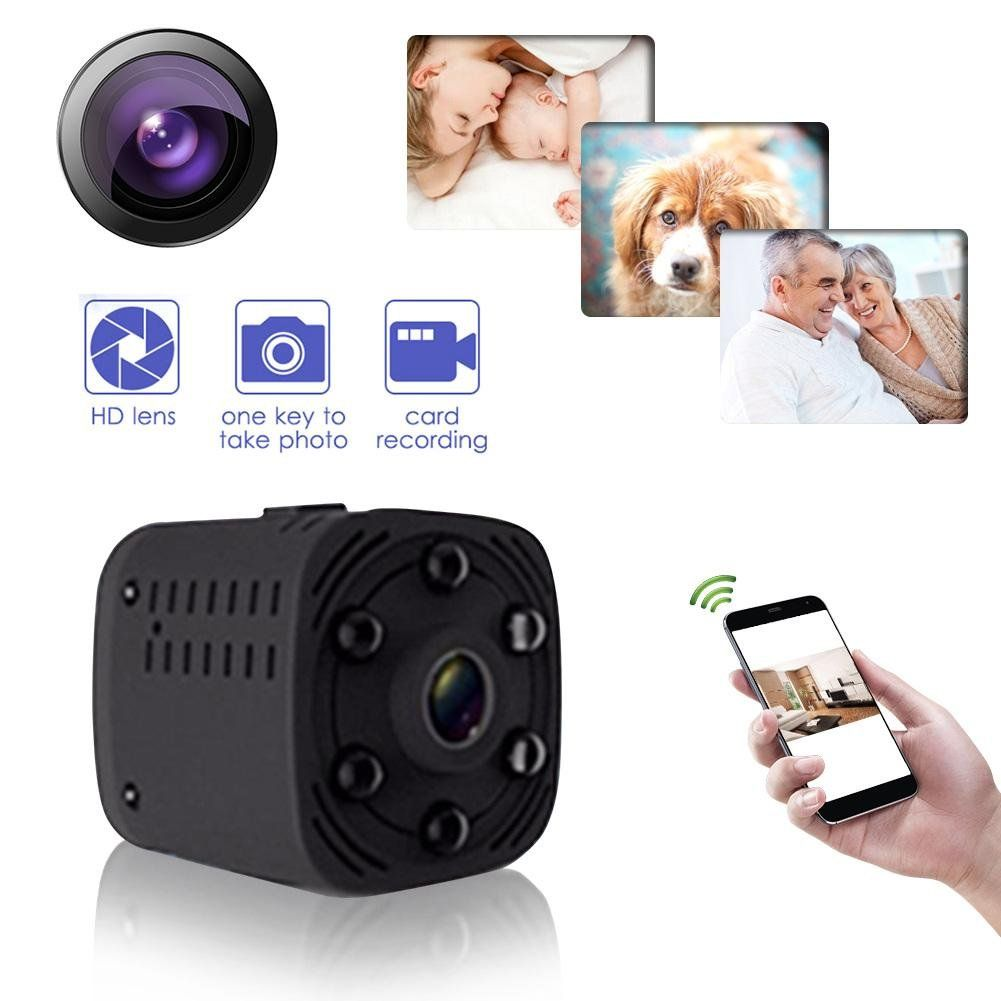 FULL HD 1080p NIGHT VISION SPY CAMERA IN CAR REMOTE MOTION DETECT VIDEO RECORDER