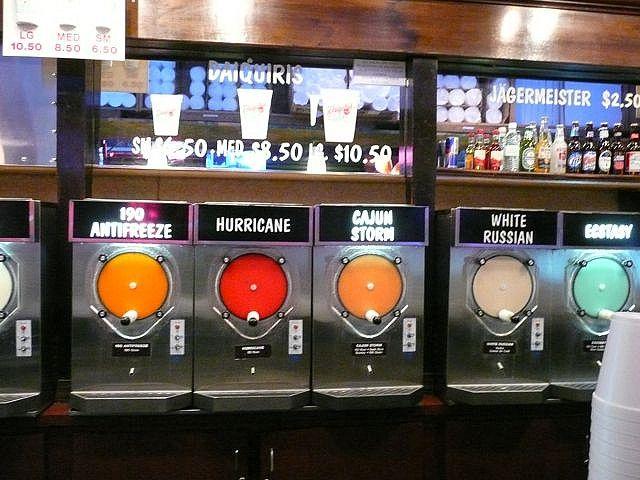 Daiquiri Machines By Meganehansen Via Flickr Daiquiri Shop Daiquiri Bar Happy Hour Cocktails
