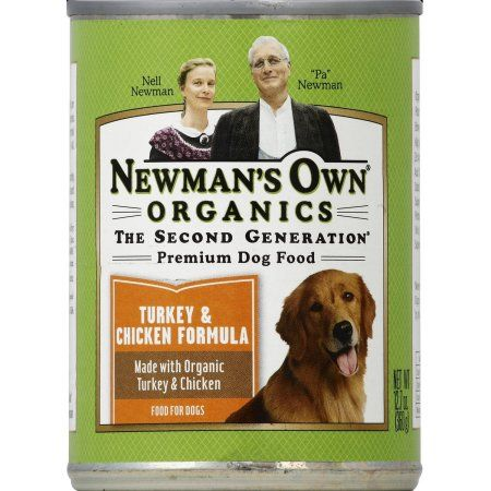 Newman S Own Dog Food Premium Turkey And Chicken Formula 12 7